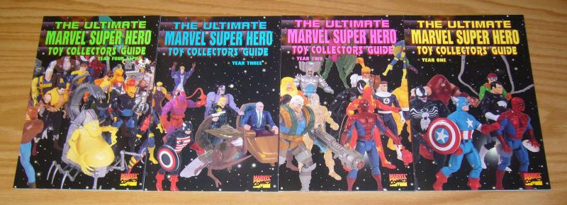 Ultimate Marvel Super Hero Toy Collectors' Guide #1-4 VF/NM complete series 2 3