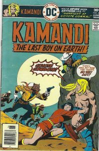 Kamandi the last boy on earth