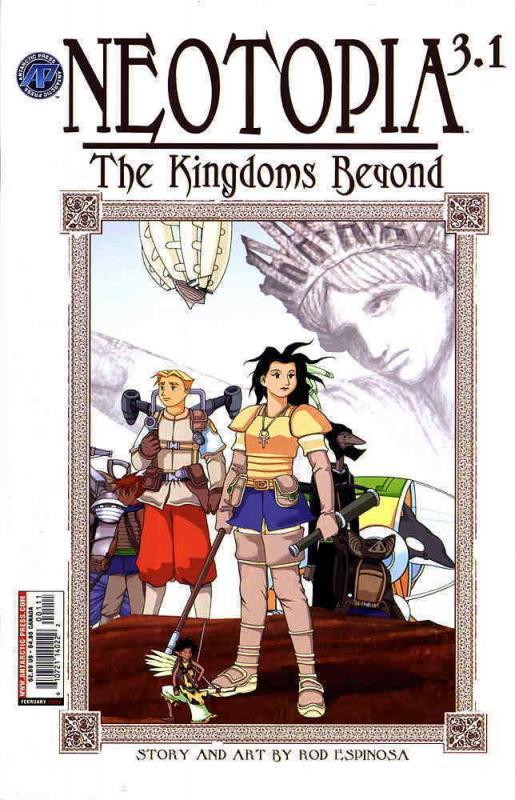 Neotopia Vol. 3: The Kingdoms Beyond #1 FN; Antarctic | save on shipping - detai