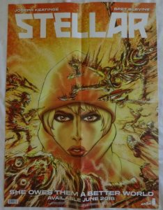 STELLAR Promo Poster , 18 x 24,  2018, IMAGE, Unused more in our store 097