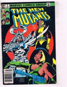 5 Marvel Comics New Mutants # 5 Power Man & Iron Fist # 86 Obnoxio # 1 4 7 J117
