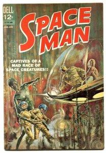 Space Man #5 1963- Dell Comics- Silver Age VF