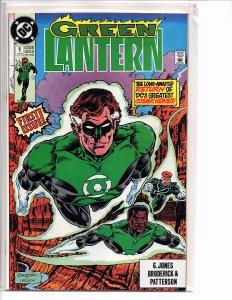 DC Comics Green Lantern #1 Hal Jordan; Guy Gardner; John Stewart Pat Broderick