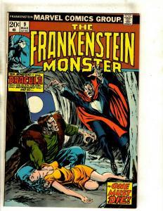 Monster Of Frankenstein # 9 VF/NM Marvel Comic Book Mike Ploog Cover Horror RS1