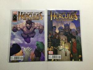 Hercules: Fall Of An Avenger 1-2 1 2 Lot Run Set Limited Series Near Mint Marvel