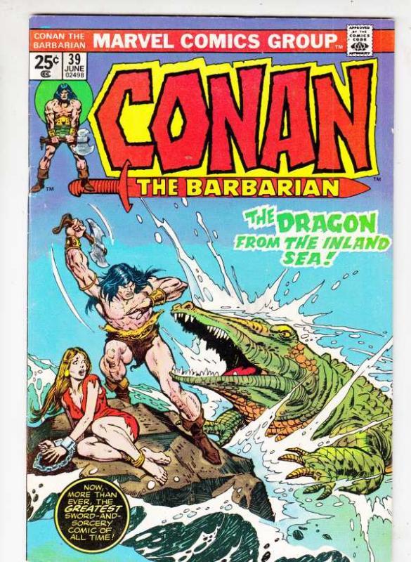 Conan the Barbarian #39 (Jun-74) FN/VF Mid-High-Grade Conan the Barbarian