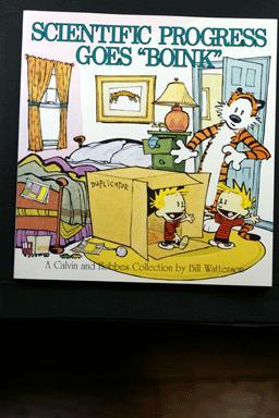 Calvin and Hobbes Scientific Progress Goes Boink