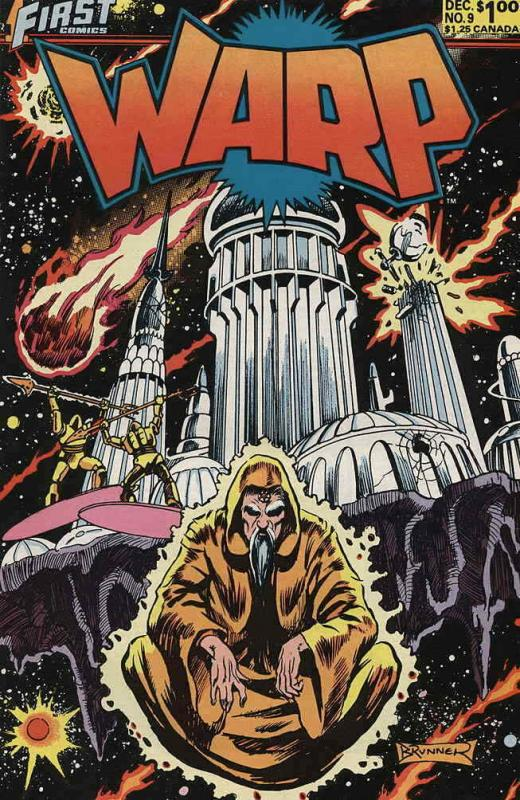 Warp #9 VF/NM; First | save on shipping - details inside