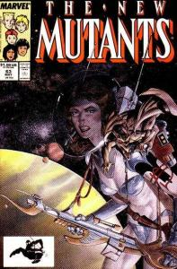 New Mutants (1983 series) #63, Fine+ (Stock photo)