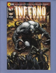 Inferno Hellbound #1 VF Dale Keown Variant Cover Top Cow 2002