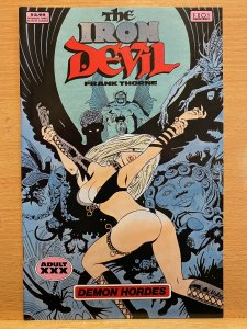 The Iron Devil (1994) Eros Comix VERY NICE BOOK Adults Only