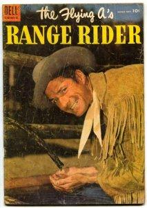 The Flying A's Range Rider #9 1955- Dell Western- Jock Mahoney G/VG