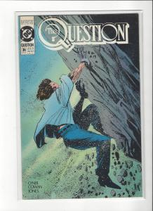 The Question #36 Mature Readers VF/NM Nice Copy