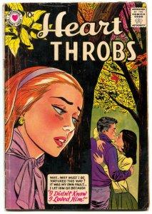 Heart Throbs #53 1958- DC Silver Age Romance VG-