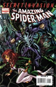 Secret Invasion: Amazing Spider-Man #1, NM- (Stock photo)