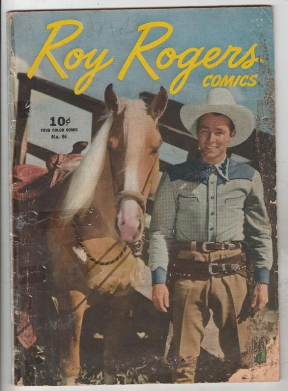Four Color #86 (Oct-45) GD- Affordable-Grade Roy Rogers