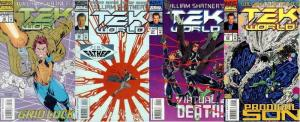 TEK WORLD (1992 EPIC) 19-22 Sins Of The Father pt.1-4 COMICS BOOK