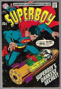 SUPERBOY #158, GD/VG, Wally Wood, Neal Adams, 1949 1969, more in store