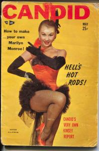 Candid 5/1954-Manly-Girl Gangs-Jane Russell-Terry Moore-exploitation-VG