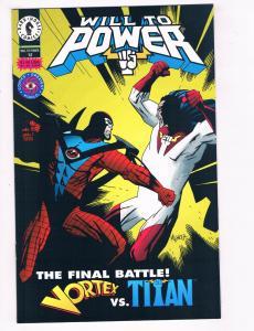 Will To Power #12 NM Dark Horse Comics Comic Book 1994 DE28