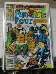 FANTASTIC FOUR # 335 1986 MARVEL ACTS OF VENGEANCE