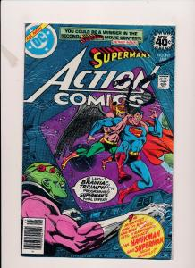 DC Action Comics #491 SUPERMAN VG/FINE (SRU171)