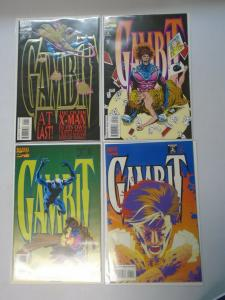 Gambit set #1-4 8.0 VF (1993 1st Series)