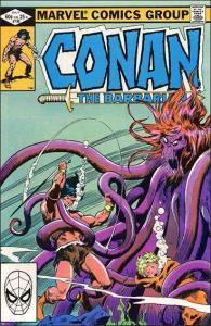 Marvel CONAN THE BARBARIAN (1970 Series) #136 VF