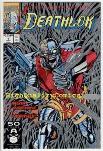 DEATHLOK #1, NM+, Cyborg, 1991, Wolf, Robot, Guns, Machine, more DL in store