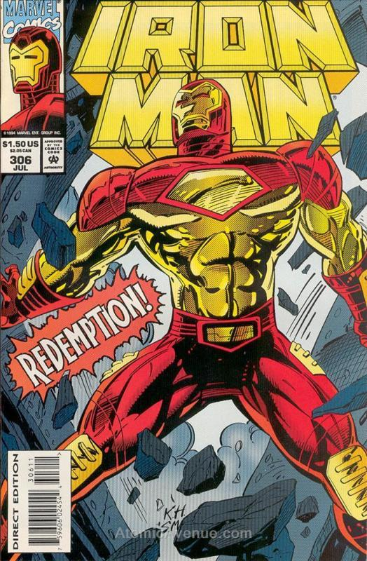 Iron Man (1st Series) #306 FN; Marvel | save on shipping - details inside
