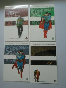 Superman Secret Identity Set: #1-4 8.0 VF (2004)