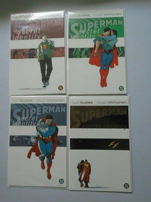 Superman Secret Identity Set: #1-4 8.0 VF (2004)