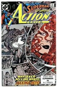 Action Comics 645 Sep 1989 NM- (9.2)