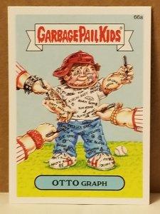 2015 Garbage Pail Kids #66a Otto Graph