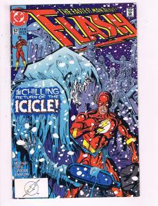 Flash #57 VF DC Comics Comic Book Messner 1991 DE12