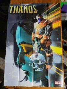 LARGE 36 x 24 THANOS & Gamora Promo Poster