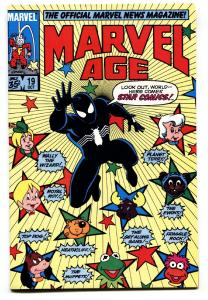 Marvel Age #19 1st appearance of Black Costume -Amazing Spider-Man #252