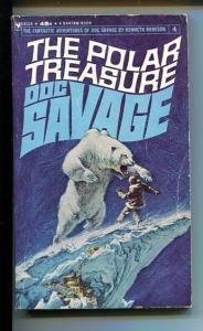 DOC SAVAGE-THE POLAR TREASURE-#4-ROBESON-1ST ED-VG VG