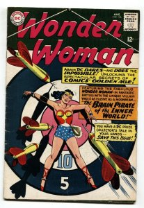 WONDER WOMAN #156-DC COMICS-MENTION OF COMIC COLLECTING VG