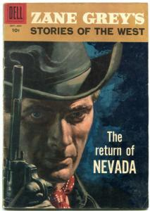 Zane Grey's Stories of the West #39 1958- Dell Western- VG