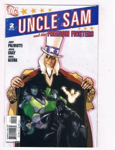 Uncle Sam & The Freedom Fighters #2 VF/NM DC Comics Comic Book Oct 2006 DE46