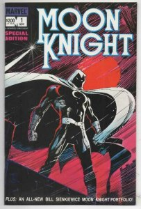 MOON KNIGHT Special Edition #1 2 NM, 3 VF/NM Sienkiewicz 1983 1984 Marvel
