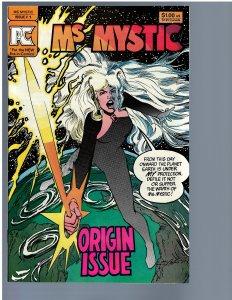 Ms. Mystic #1 (1982) NM