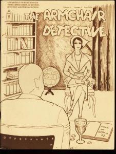 ARMCHAIR DETECTIVE V.9 #3-1976-PULP FANZINE-RARE FN