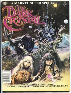 Marvel Super Special #24 THE DARK CRYSTAL 1982 comic mag