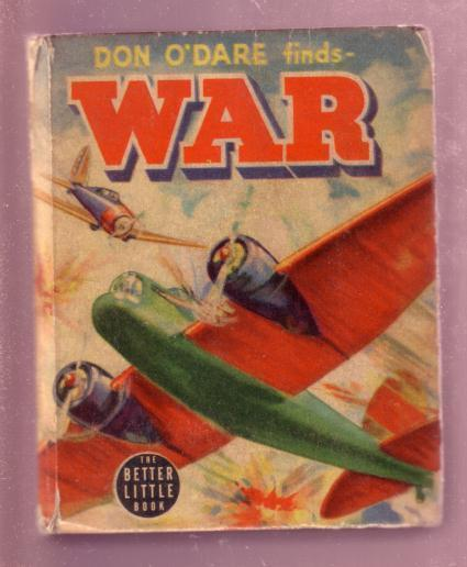 DON O'DARE FINDS WAR, ERWIN L. HESS, 1940 #1438 BLB-WW2 VG+