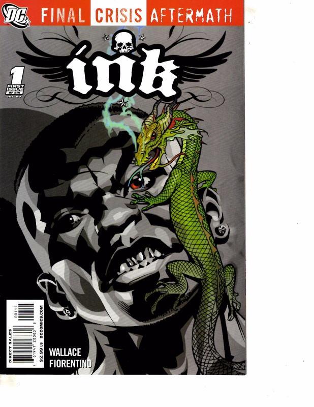 Lot Of 2 DC Comic Books Final Crisis Escape #1 Ink #1  Batman  MS20