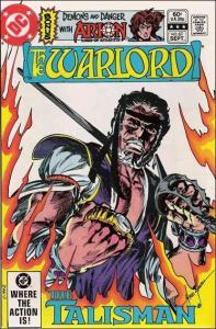 DC WARLORD (1976 Series) #61 VF