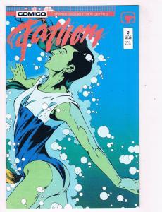 Fathom #2 VF/NM Comico Comics Comic Book Jun 1987 DE41 AD18