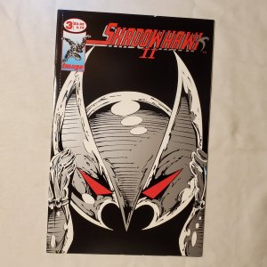 Shadowhawk II 3 Very Fine Cover by Jim Valentino
